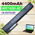 4400 mAh Bateria HP398875-001 398876-001 HSTNN-DB06 HSTNN-DB11 HSTNN-DB29 HSTNN-I04C HSTNN-LB11 HSTNN-OB06