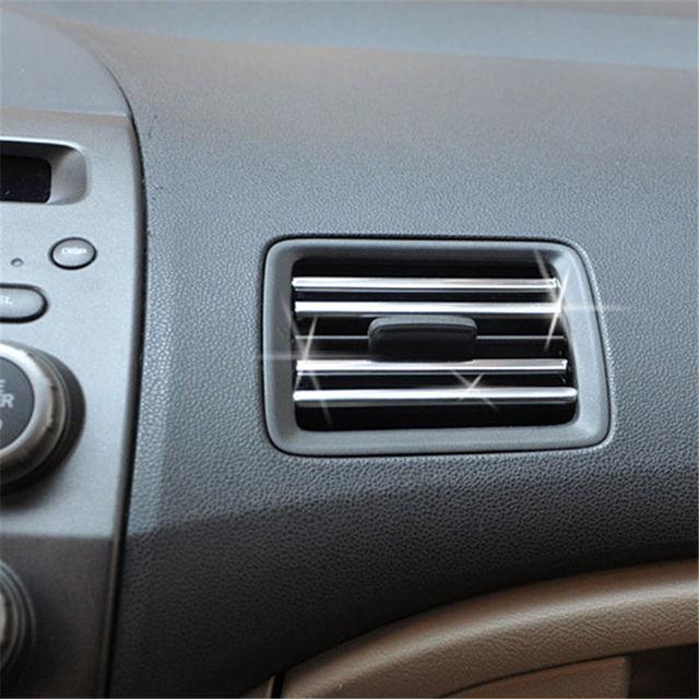 Oslamp 6mm 3Meters Car Chrome Decor Strip Sticker Silver Auto Styling Moulding Trim Strip Auto Body Window Exterior Decoration