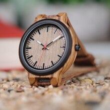 BOBO BIRD New Luxury Wooden Watches Men and Women Leather Quartz Wood Wrist Watch