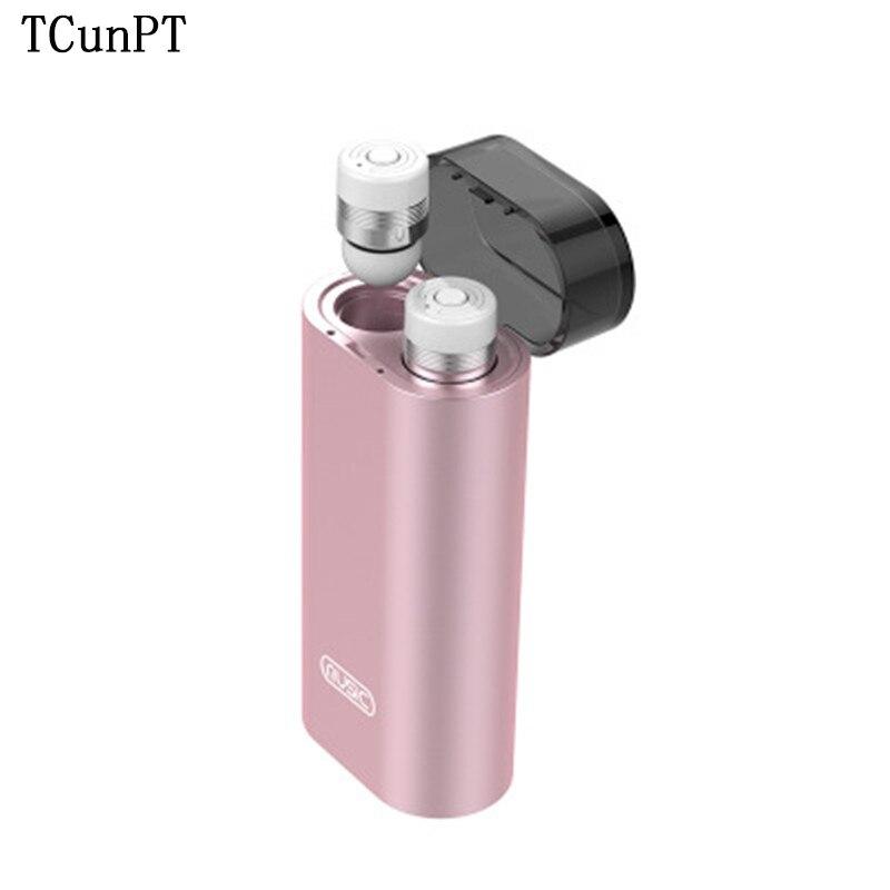 TCunPT M2 TWS affaires écouteurs Bluetooth écouteurs sans fil 3d casque avec micro mains libres appels suppression de bruit Heahdset