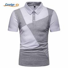 Covrlge New Brand Polo Men Shirt Mens Casual Shirts Short Sleeve Camisetas Masculinas Streetwear Polos Sweatshirt MTP106