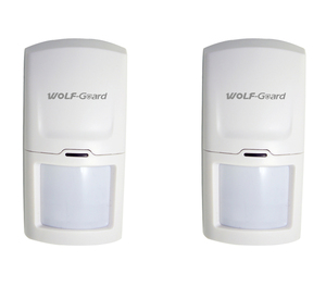 2 x Wolf-Guard Wireless PIR Motion Sensor Detector Alarm for Home Security Alarm System 3G/GSM Alarm Panel 433MHZ(China)