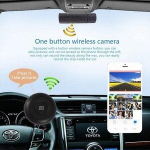 Image 4 - Kollision Sensor WIFI DVR Recorder Kamera Video Auto Unterstützung Mikrofon Auto DVR Kamera Spiegel 170 Grad Fahren Recorder Kamera