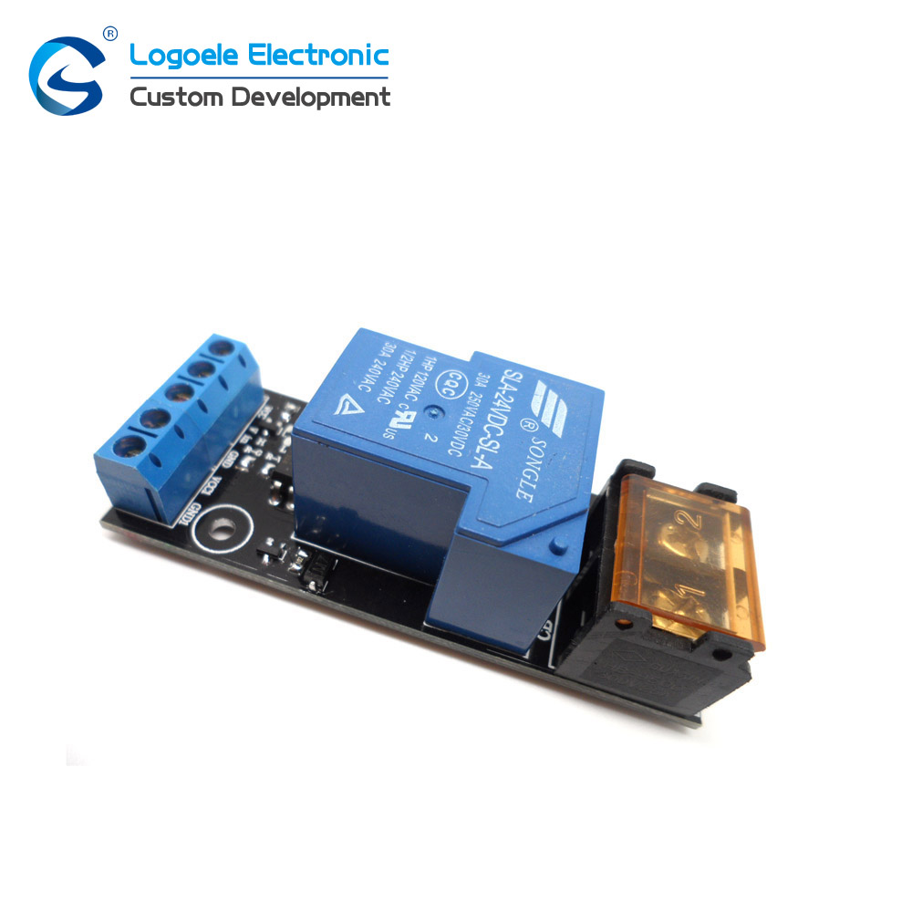 Songle Single 5v 12v 24v High Low Power Relay Module Drive Plate Freewheeling Diode Protection In Home Automation Modules From Consumer Electronics