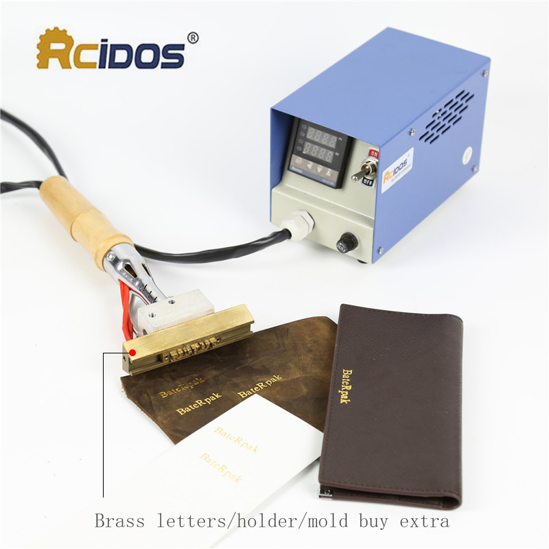 Soldador eléctrico S3550, Máquina de estampado en caliente RCIDOS, - Artes, artesanía y costura - foto 3