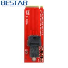 U.2 U2 Kit SFF-8639 NVME PCIe SSD Adapter for Mainboard Intel SSD 750 p3600 p3700 M.2 SFF-8643 Mini SAS HD PCI-E X4 connector