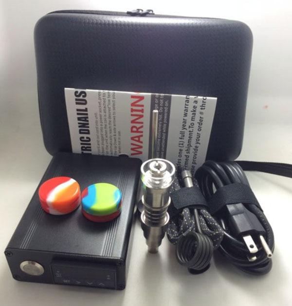 DHL Free Dnail Enail Kit Titanium / Quartz nail carb cap hybrid e - Bienes para el hogar - foto 4