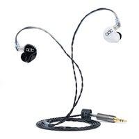 QDC 5SH 5 HiFi Fone de Ouvido Personalizado Cinco-unidade Armadura Balanceada 5BA Fone de ouvido à prova de som subwoofer