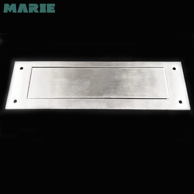 Stainless steel mailbox letter plate outside mailboxes letter plate wall hanging letter plate
