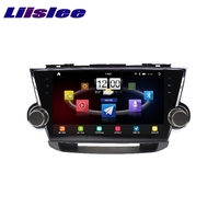 For Toyota Highlander XU40 Kluger LiisLee Car Multimedia TV DVD GPS Audio Hi Fi Radio Stereo Original Style Navigation NAVI