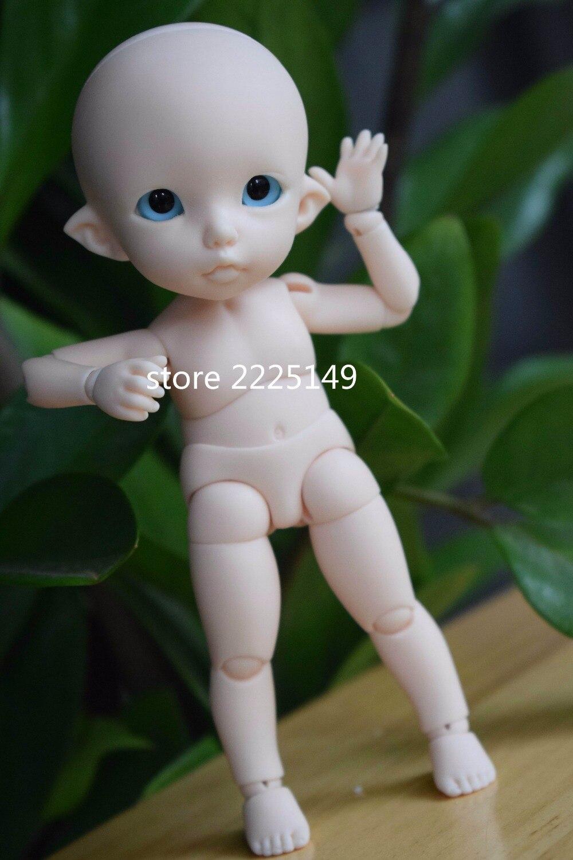 Darmowa wysyłka lingxiyiwa 1/8bjd BB Ante podstawowe z oczami w Lalki od Zabawki i hobby na AliExpress - 11.11_Double 11Singles' Day 1