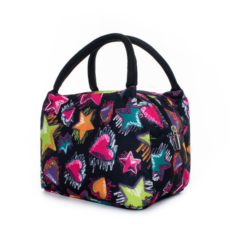 Insulated Lunch Bag Portable Thermal Tote Bag For Kids Women Waterproof Convenient Picnic Children Bags-Large Food Organizer For