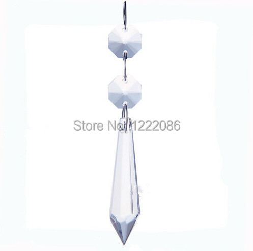50pcs large clear chandelier glass crystals lamp prisms parts 50pcs large clear chandelier glass crystals lamp prisms parts hanging drops aloadofball Image collections