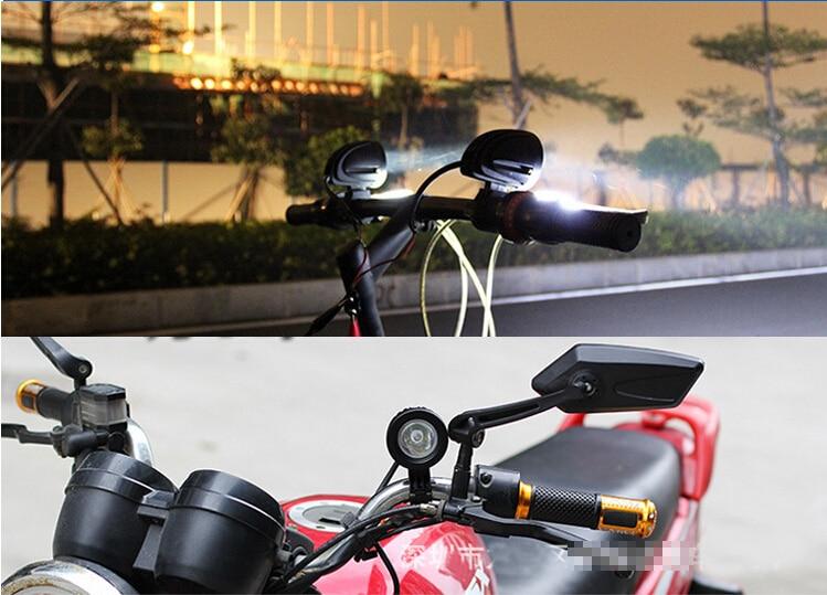 Motorcycle 24V Indicator Headlight 9
