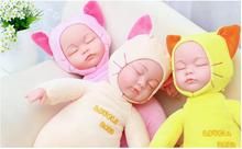 25CM Mini Stuffed Baby Born Doll Toys For Children Silicone Reborn Alive Babies Lifelike Kids Toys Sleep Reborn Doll For Kid Toy