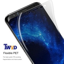 3pcs/Lot 3D Curved PET Soft Screen Protector For Samsung Note 9 8 Galaxy S7 S6 Edge S8 S9 Plus Full Cover Not Tempered Glass(China)