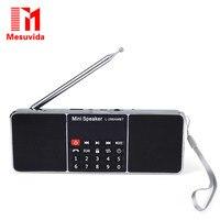 Mesuvida L-288AMBT Bluetooth 2.1 Kablosuz Hoparlör Dahili Mikrofon Destek AM Radyo FM Radyo Fonksiyonu Ile LED Ekran