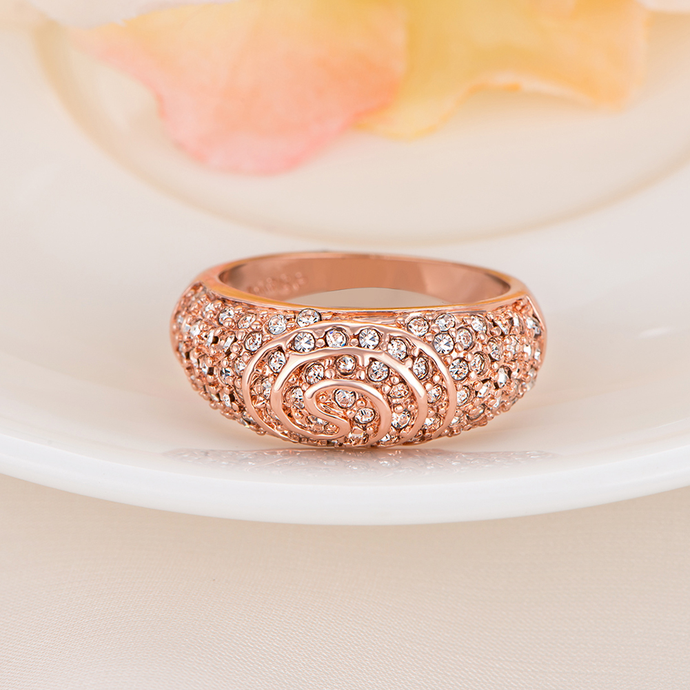 yellow rose rosegold gouden kristal austrian crystal dames yuzuk anel african toe luxury de moda mix Dahu Rico r Dahu Rico rings
