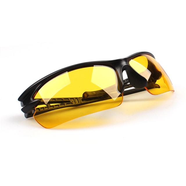 Night vision goggles drivers night-vision glasses anti night with luminous driving glasses Protective Gears sunglasses