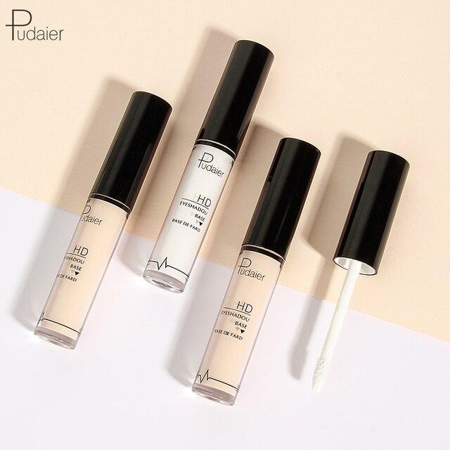 Pudaier Professional Makeup Base 2 Colors Face Foundation Primer Liquid Eye Shadow Primer Facial for Face Contour Concealer 3