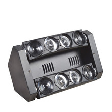 Hot sale LED Spider Beam Light LED 8x12w RGBW 4in1 Bar Beam Moving Head Beam Lighting DMX 512(China)
