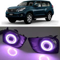 Super COB Fog Light Angel Eye Bumper Projector Lens for Toyota Land Cruiser 150/Prado 4000/FJ150