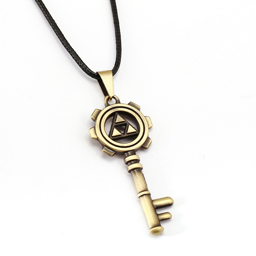 The Legend of Zelda Necklace 3 style Evil eye Key Colgante amistad - Bisutería - foto 3