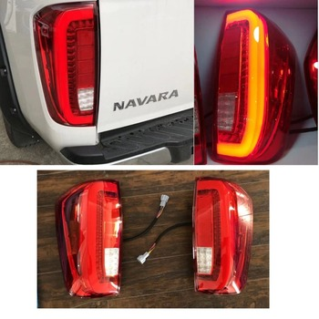 CITYCARAUTO HIGH QUALITY car accessories  led TAIL LIGHTS  FIT FOR NISSAN NAVARA NP300 2015-2018 PICKUP car light