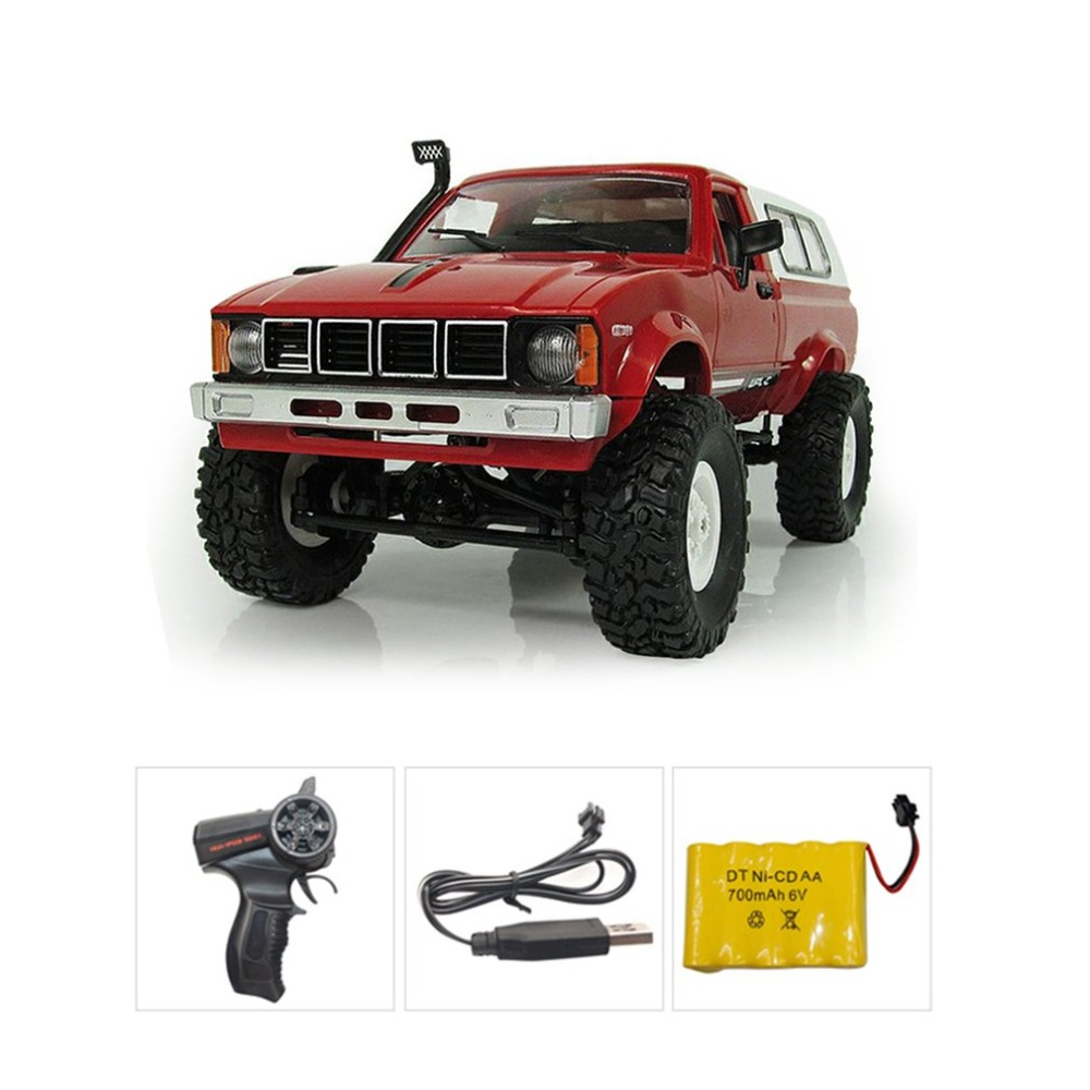 C-24 4WD 1:16 RC Car Off Road Crawler Climbing Toys with Headlight Remote Control Vehicle Buggy Toys for Kids Gift RTRC-24 4WD 1:16 RC Car Off Road Crawler Climbing Toys with Headlight Remote Control Vehicle Buggy Toys for Kids Gift RTR