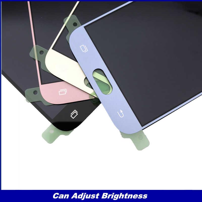 Puede ajustar el brillo LCD reemplazo para Samsung Galaxy J5 2017 j530 pantalla LCD J530F con montaje de digitalizador con pantalla táctil