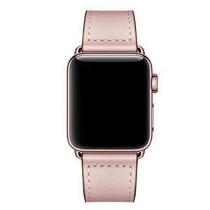 Image 2 - 本革時計バンドストラップ時計シリーズ 4 3 2 1 42 ミリメートル 44 ミリメートル、viotoo女性高級iwatchための革時計バンド