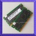 Микрон 2x1 ГБ DDR400 PC3200 ddr400mhz 200PIN Sodimm ПАМЯТИ 1 Г 200-контактный SO-DIMM ОПЕРАТИВНОЙ ПАМЯТИ DDR Ноутбук ПАМЯТИ Бесплатная Доставка