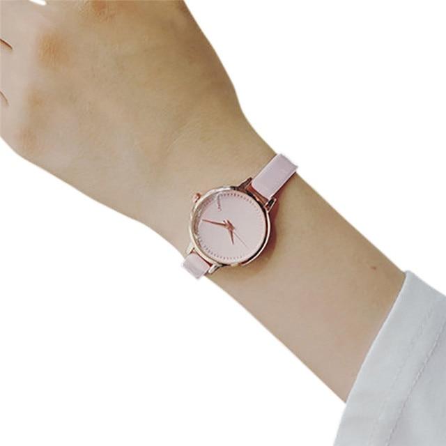 Reloj de cuarzo mujeres marca reloj tous señora de la manera de la trenza  de la correa pulsera analógico pequeño Dial delicado reloj de lujo relojes  ... 2260a1108165