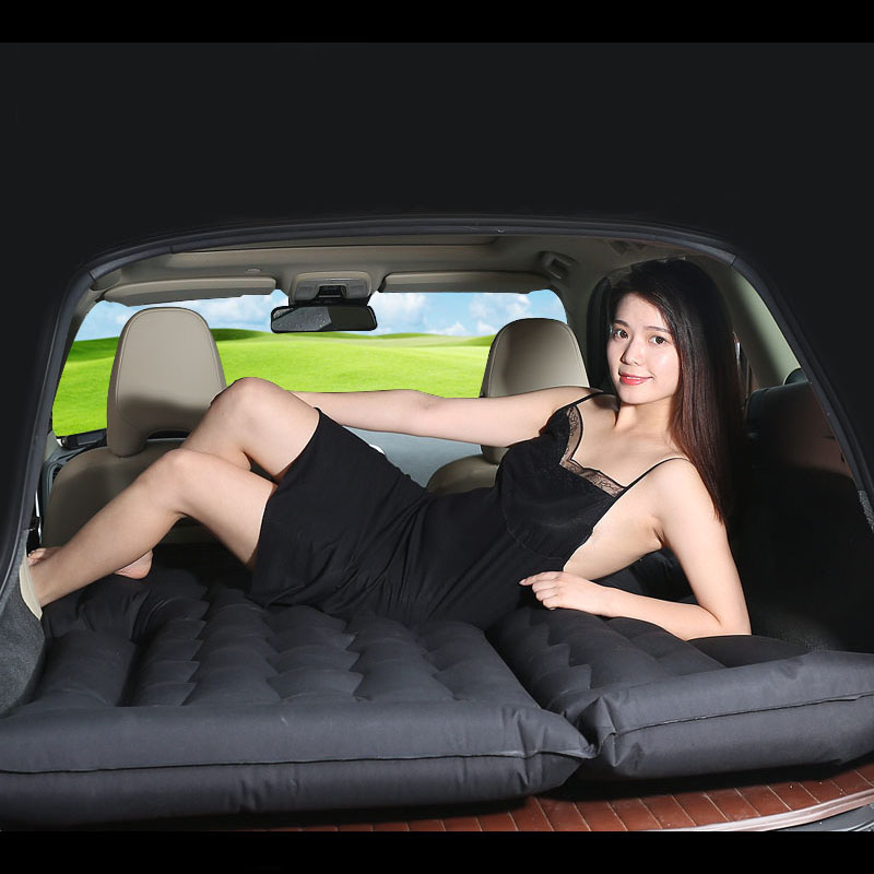car travel bed inflatable mattress sleep in SUV for mercedes benz m class <font><b>ml</b></font> <font><b>350</b></font> ml320 W163 <font><b>W164</b></font> w166 gle GLE43 GLE63 GLE63S image
