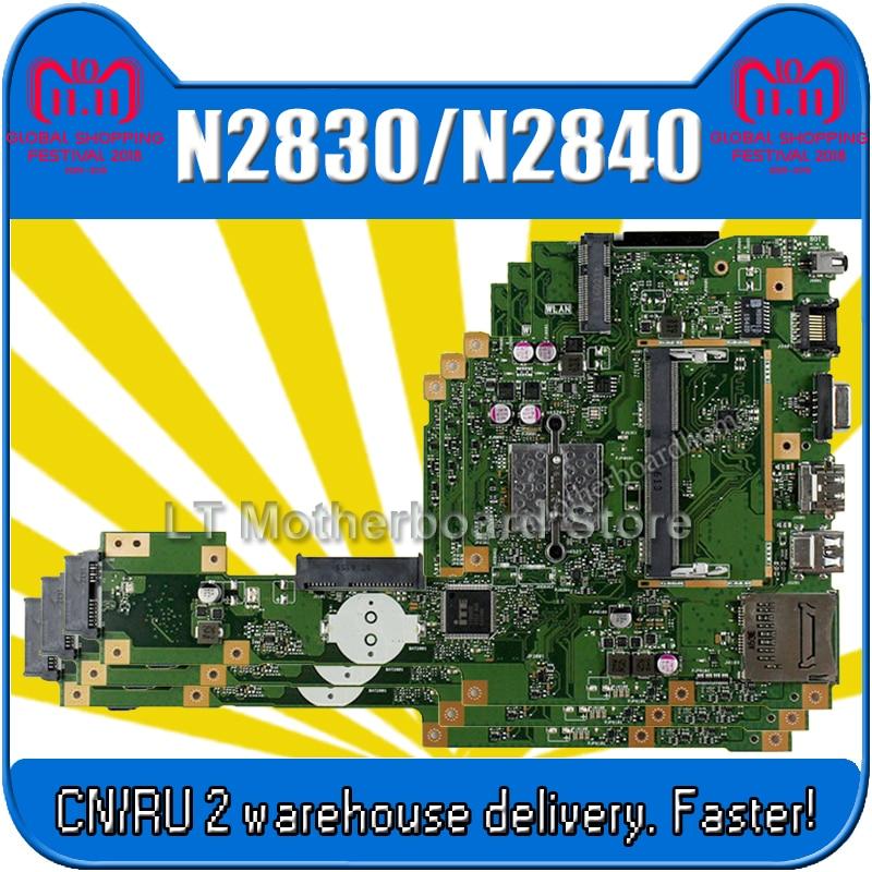 X553MA Motherboard REV2.0 N2830/N2840 For ASUS A553M X503M F503M Laptop motherboard X553MA Mainboard X553MA Motherboard test OK цена 2017