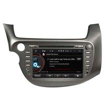 Fit honda fit, JAZZ LHD 2007 2008 android 5.1.1 HD 1024*600 auto dvd gps autoradio 3G wifi obd2 dvr navigation kostenlose karte