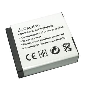 4 шт. 1200 мАч DMW BLH7 DMW-BLH7 литий-ионный аккумулятор для цифровых камер Panasonic Lumix DMC-GM1 GM1 DMC-GM5 GM5 и DMC-GF7 GF7