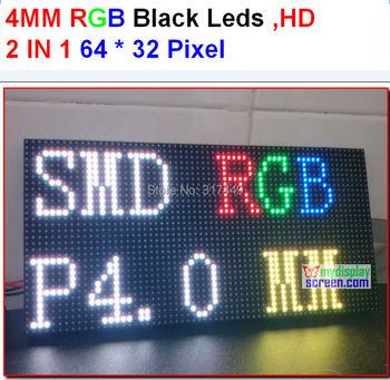 DIY P4 smd led module, high resolution, high clear, black leds, 1/16 scan, 256x128mm, 64x32pixel indoor rgb led display panel колонки audioengine p4 black