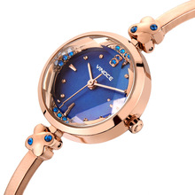 Fashion Women Rose Gold Rhinestone Wrist Watches Luxury Casual Female Quartz Watch Steel Luxury Ladies Watch Relogio Feminino watch women stainless steel rose gold silver wrist watch luxury ladies rhinestone quartz watch relogio feminino new