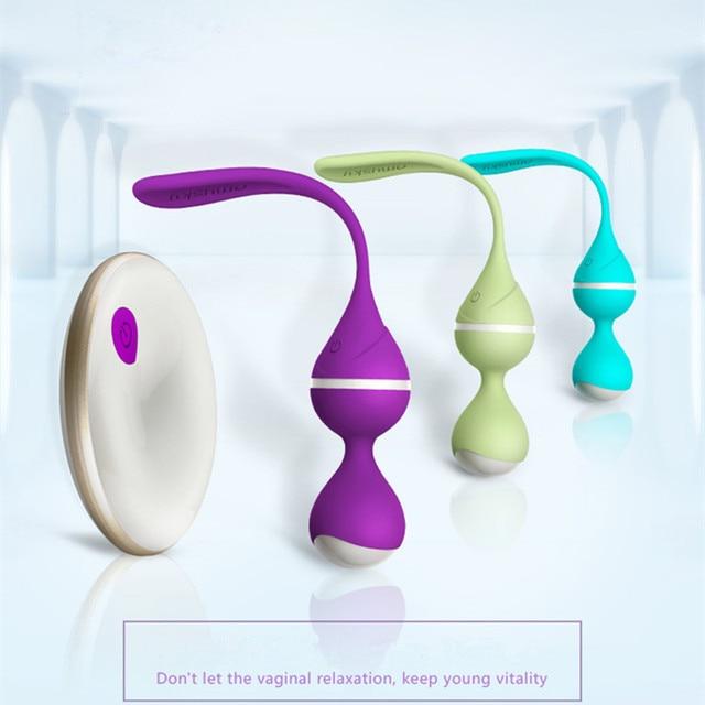 Omysky 10 Model Wireless Remote Control Vagina Ball Vibrator Sex Toys For Women Kegal Ball 1