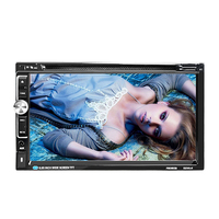 Newest 7 Inch Bluetooth Touch Screen Double DIN Car In Dash FM Radio Receiver Support Multi