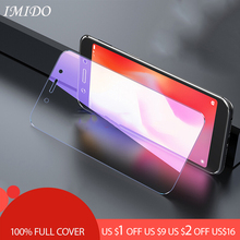 IMIDO Full Cover Anti Blue Tempered Glass for Redmi 6 6A Blue-ray Screen Protector  Pro Film Protective