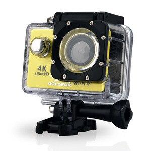 Image 3 - Action Kamera H9R Ultra HD 4K WiFi Fernbedienung Sport Video Aufnahme Camcorder DVR DV gehen Wasserdicht pro Mini helm Kamera