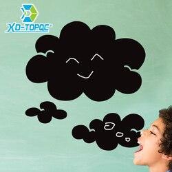 2019 Pvc Wolken Note Black Board Stickers Verwijderbare Niet Giftig Milieu Onderwijs Kinderen Schoolbord Stickers