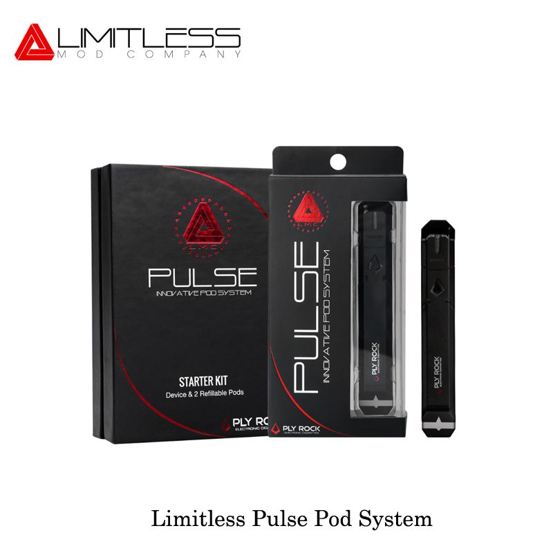 Elektronische zigarette Grenzenlose Puls Pod System Vape Stift 2 ml pod system 8 watt 380 mah E Zigaretten Patrone VS justfog Minifit C601