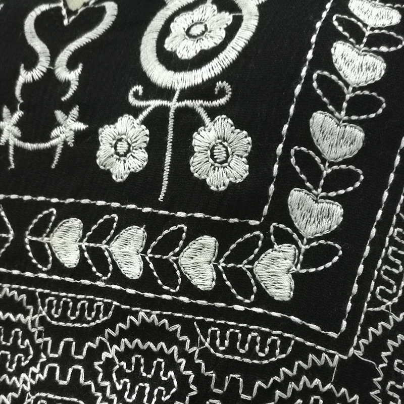 Khale Yose ყვავილების ნაქარგები - ქალის ტანსაცმელი - ფოტო 5