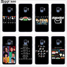 Central Perk café, amigos tv show, ¿haces caso de teléfono para Samsung Galaxy S6 S7 borde S8 S9 S10 funda suave Plus S10e(China)