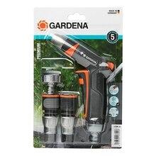 Набор поливочный GARDENA 18298-20.000.00 (Комплект фитингов и наконечники для полива, коннектор с автостопом)