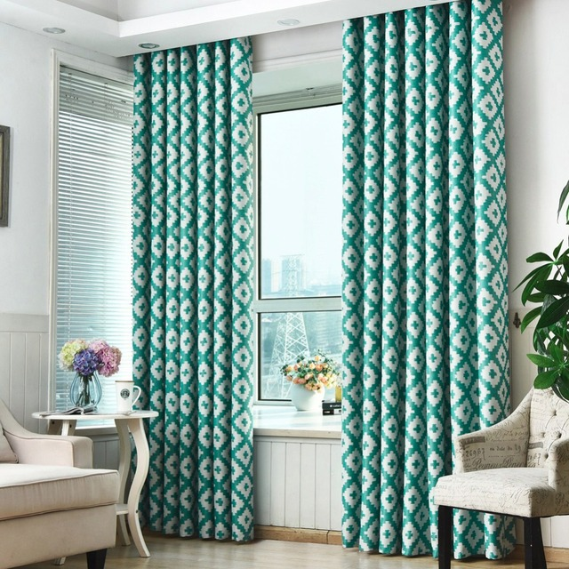 Ready bedroom curtains Blackout made modern blinds window design ...