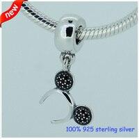 Fits Pandora Bracelets Mickey Headband Silver Charms With CZ Original 100 925 Sterling Silver Beads DIY
